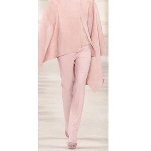 Ralph Lauren blush baby pink silk dress pants 2